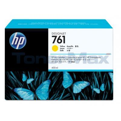 HP NO. 761 INK CARTRIDGE YELLOW 400ML